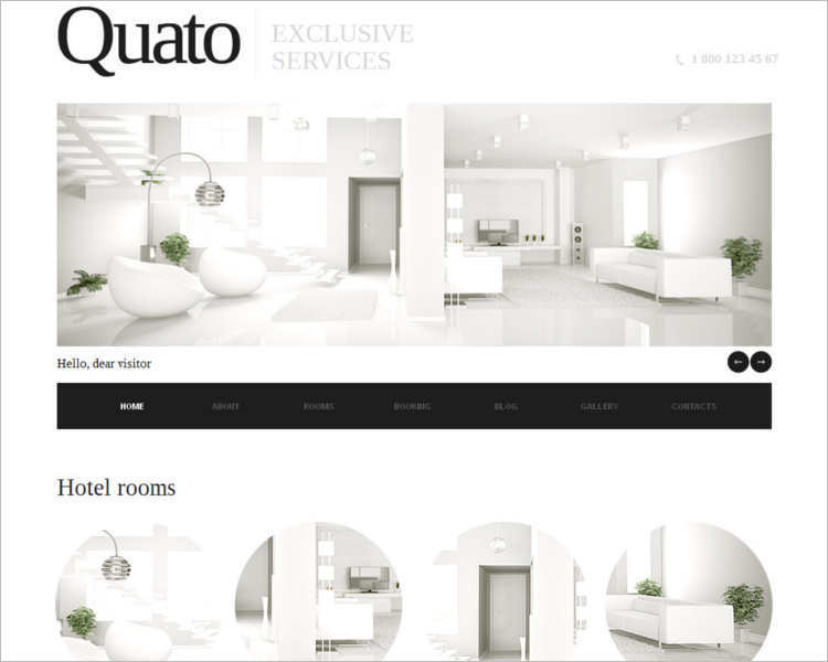 exclusive-hotel-html-service-template