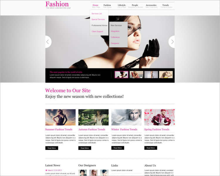 famous-fashion-design-website-templates