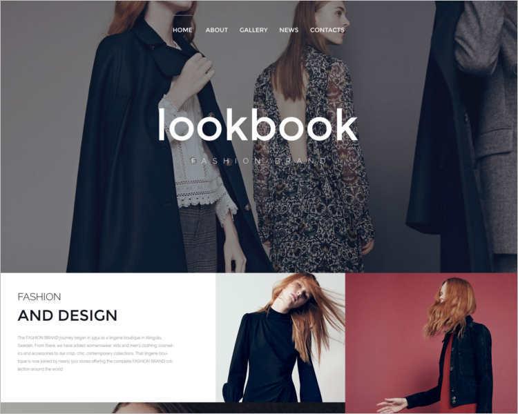 fashion-design-look-website-templates