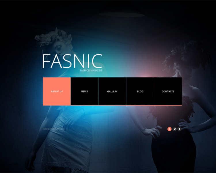 fasnic-fashion-design-website-templates