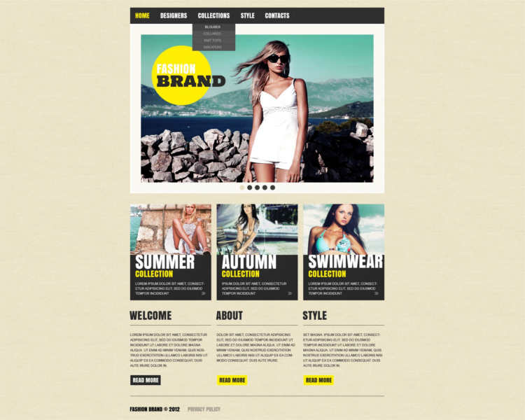 free-appearl-website-templates
