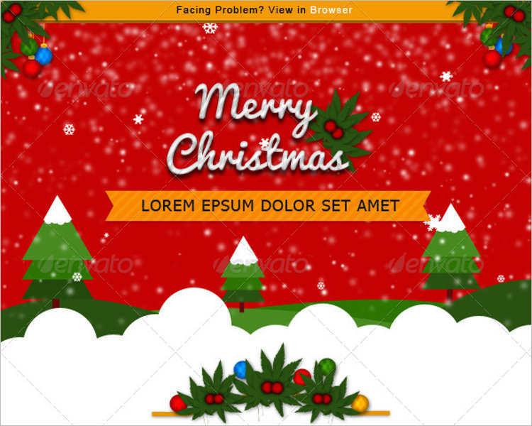 free-christmas-newsletter-e-commerce-theme-templates