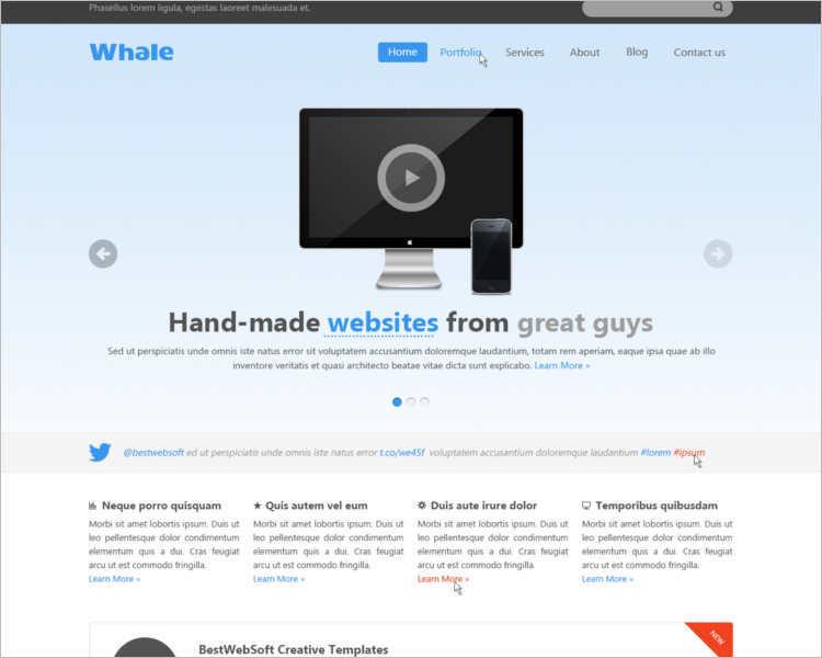 free-creactive-jquery-html-5-templates