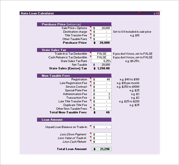 free-excel-mortgage-loan-templates
