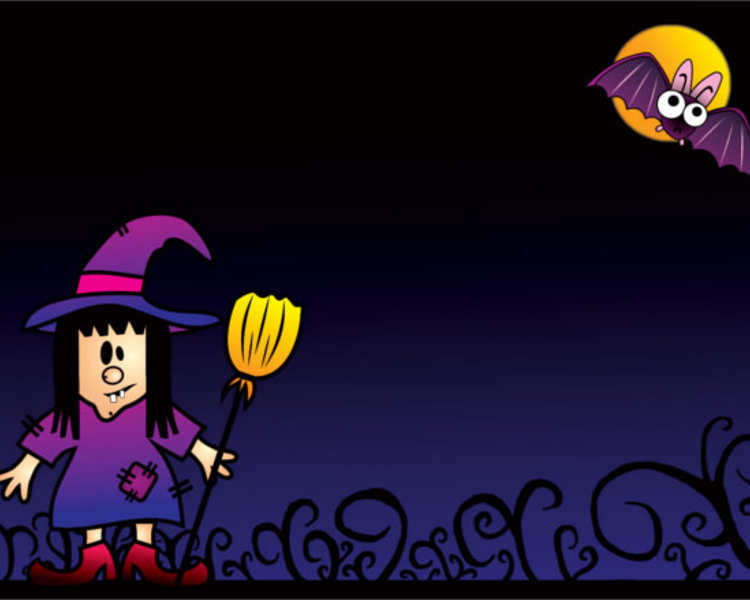 free-halloween-girl-powerpoint-template