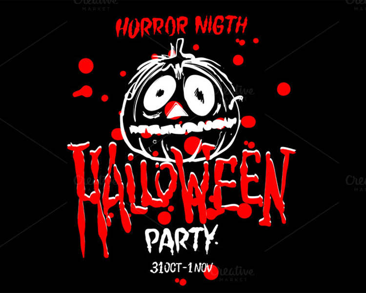 free-halloween-spooky-party-vector