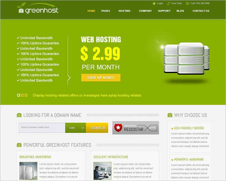 free-joomla-business-hosting-templates