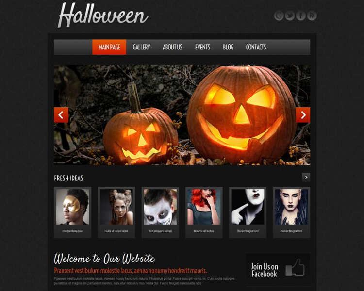 free-responsive-halloween-wordpress-theme