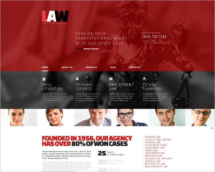 free-sample-law-legal-wordpress-template