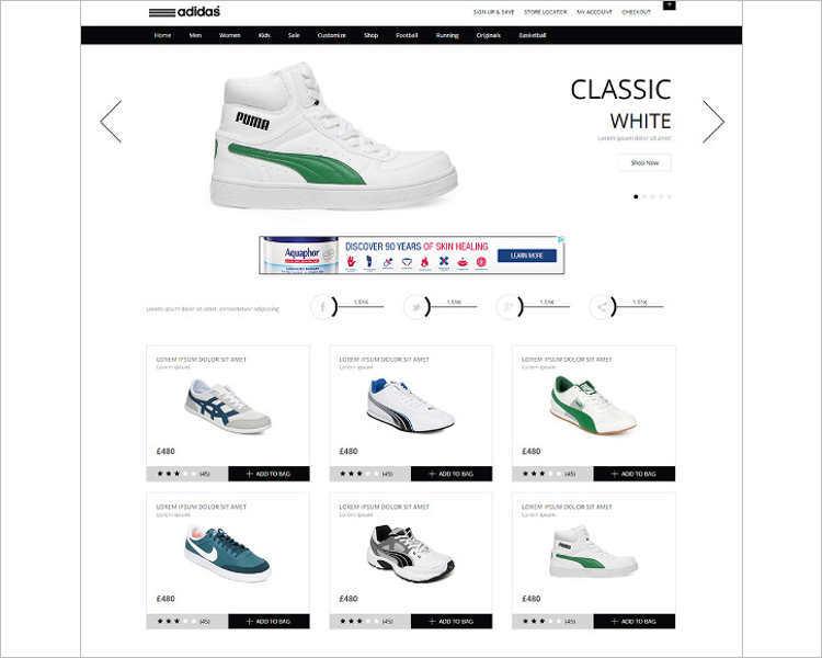 free-white-e-commerce-website-html5
