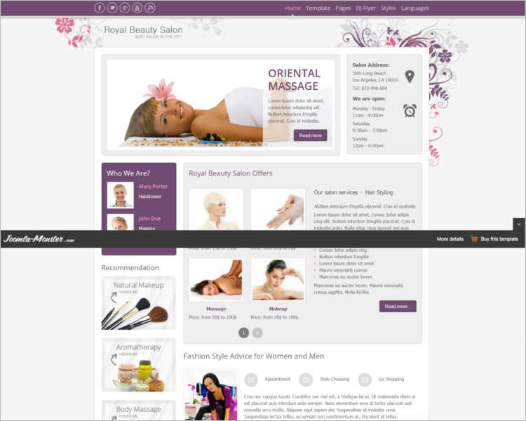 free-download-royal-salon-joomla-templates