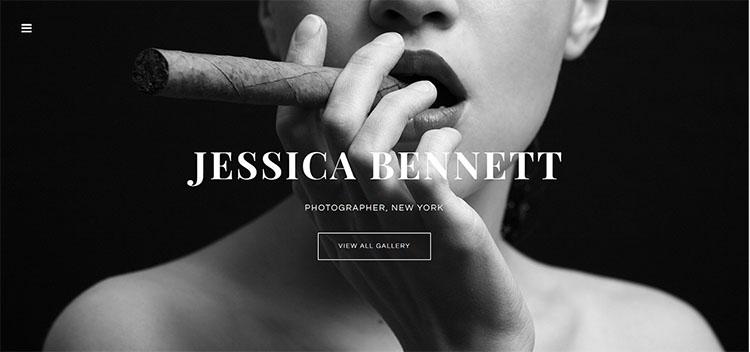 girl-photo-website-theme-templates