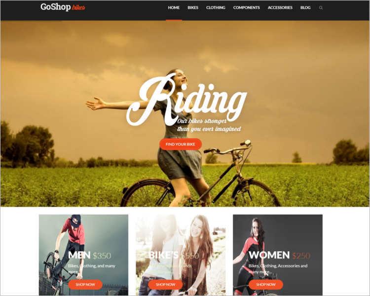 goshop-riding-wordpress-templates