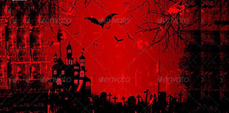 halloweenredbackground
