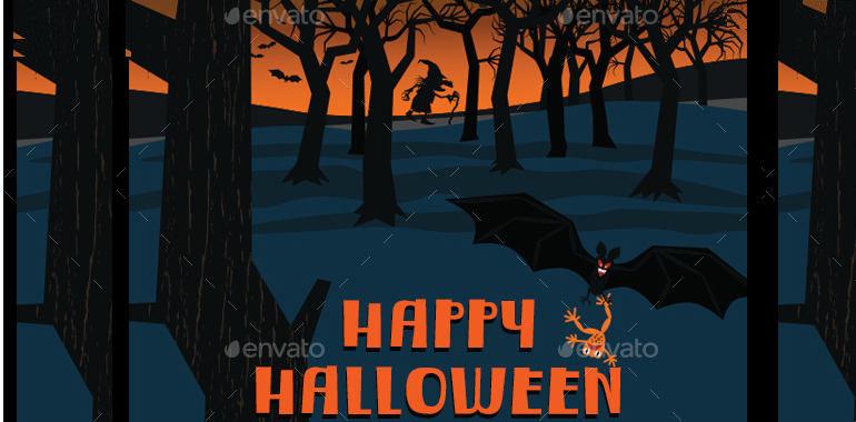 happyhalloween-dark-forest