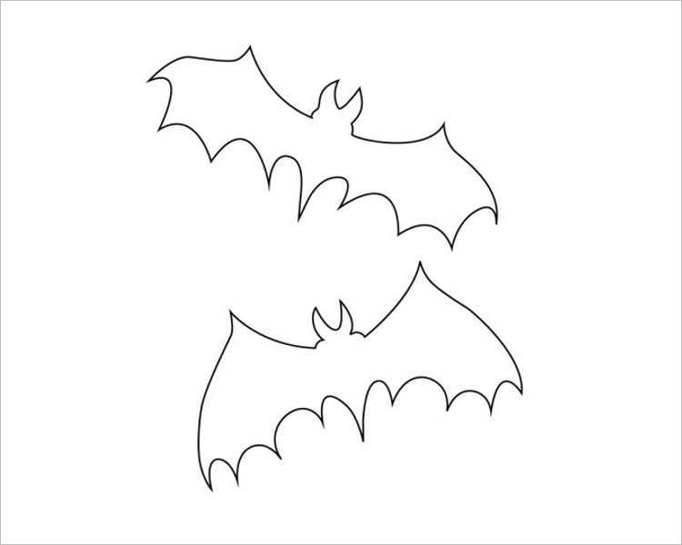 halloween-bat-pairs-printable-template