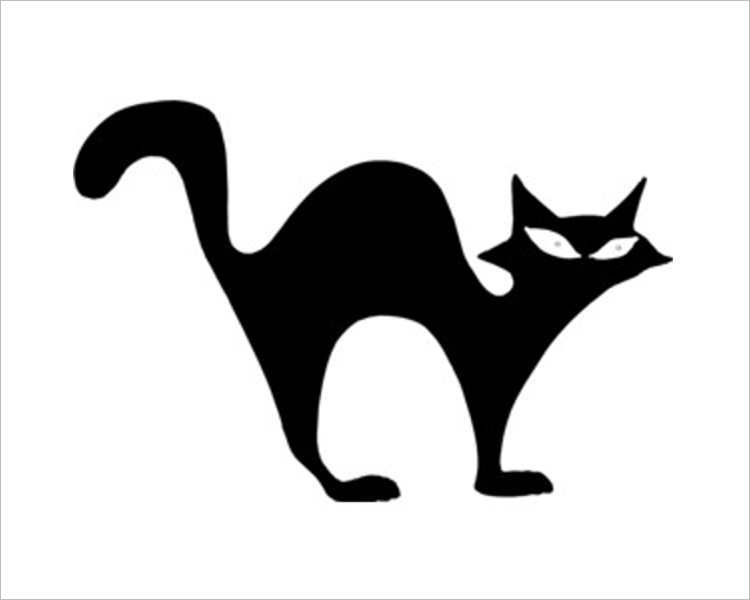 halloween-black-cat-printable-template