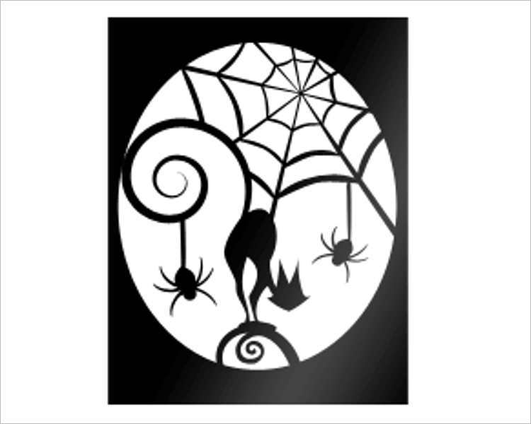 Printable Halloween Templates  Creativetemplate  Creative