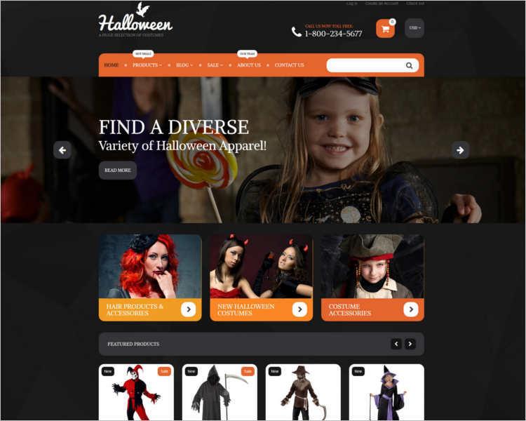 halloween-bootstrap-website-template