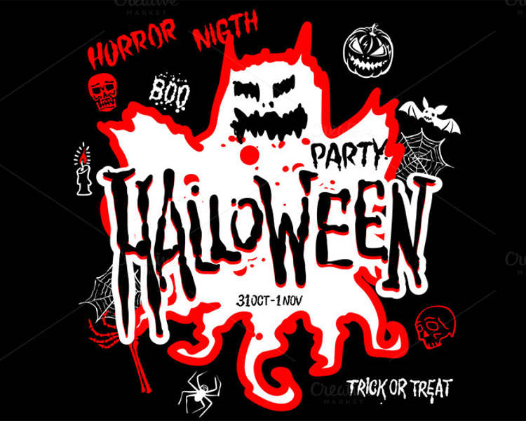 halloween-design-party-vector