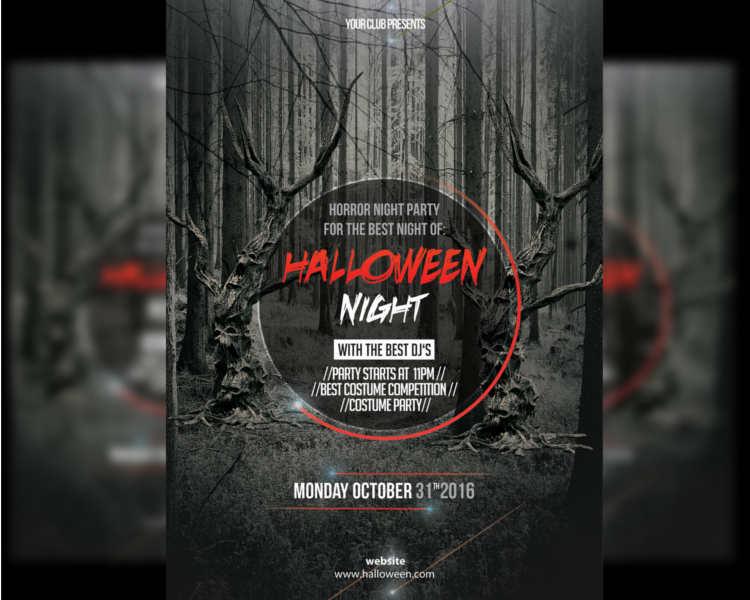 Halloween Flyer Templates || Free & Premium Templates | Creative ...