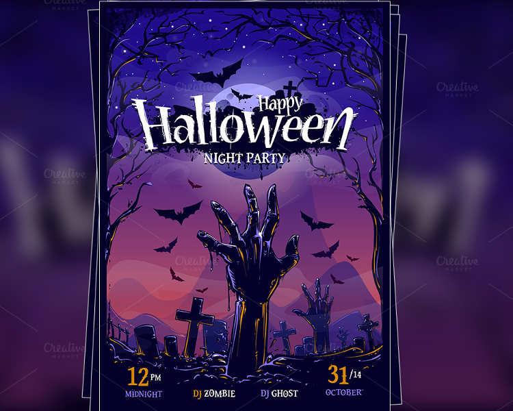 halloween-free-poster-design-template