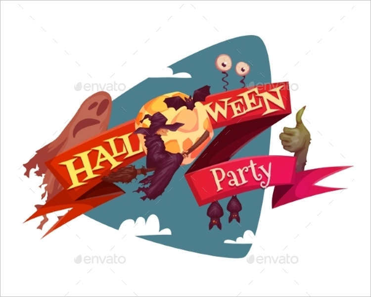halloween-holiday-party-banner-vector
