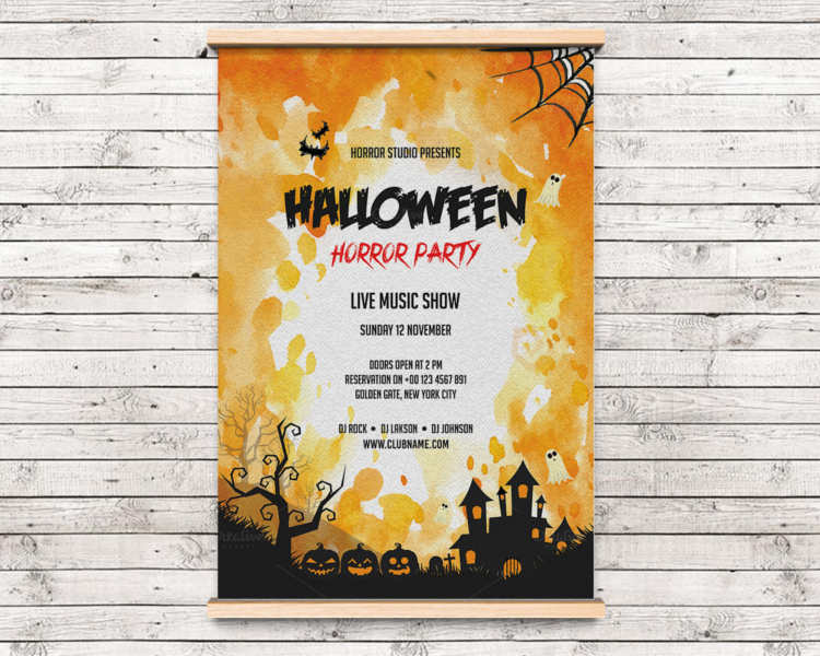 halloween-horror-party-template