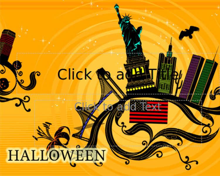 16 animated halloween powerpoint templates free designs