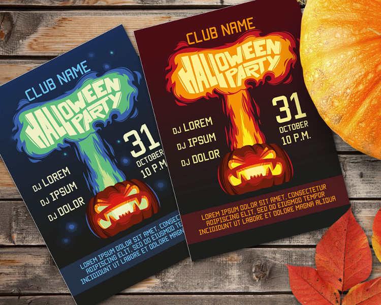 halloween-pumpkin-invitation-card-templates