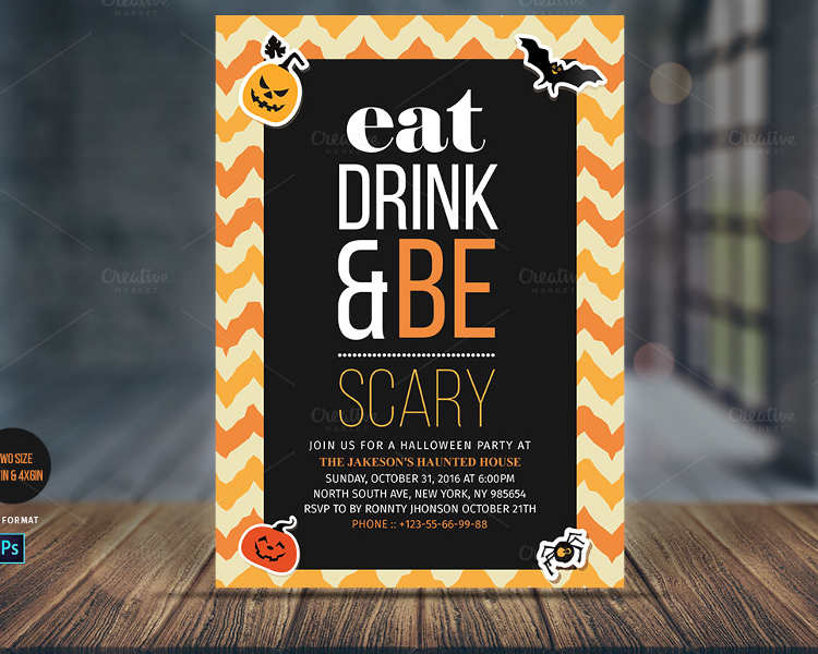 halloween-scary-invitation-card-templates