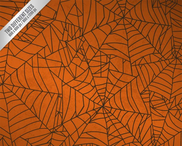 halloween-spider-net-poster-template