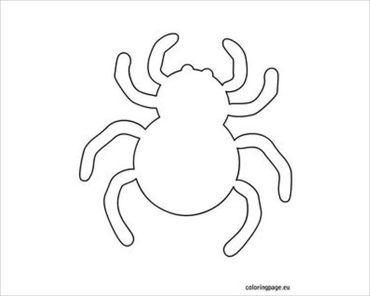 halloween-spider-printable-template