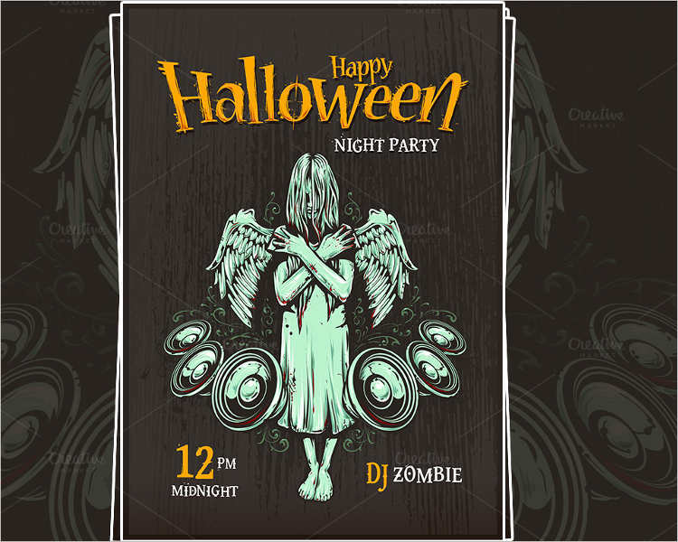 halloween-typography-poster-template