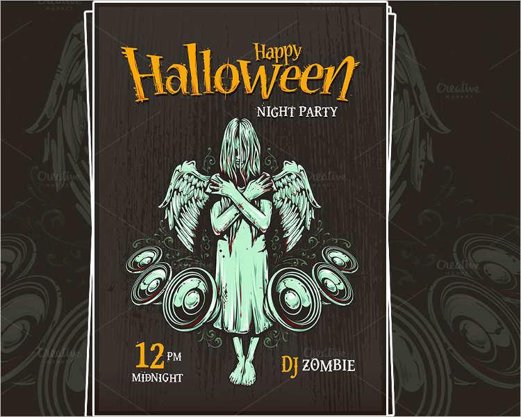 halloween-typography-poster-template