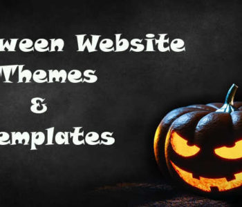 Halloween Website Themes