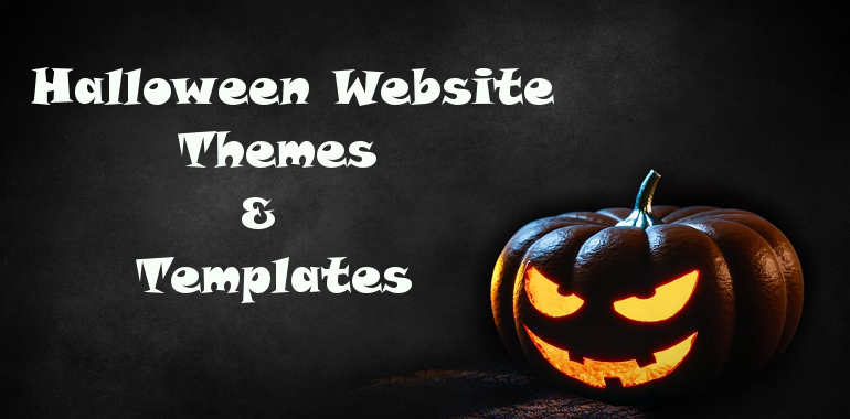 Halloween Website Themes