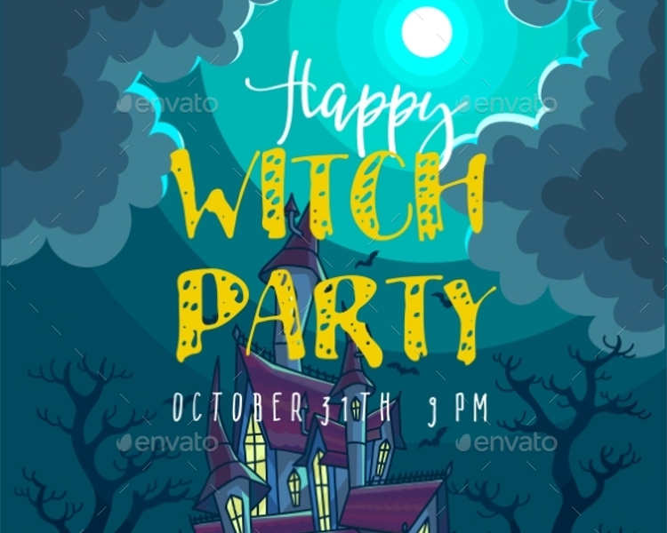 halloween-witch-party-vector