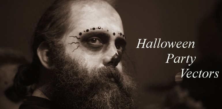 halloween-party-vector