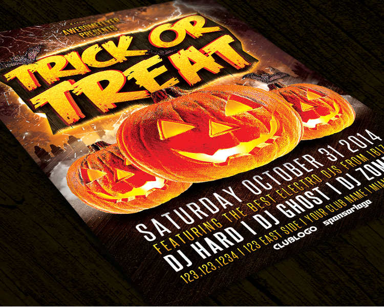 halloween-trick-party-flyer-template