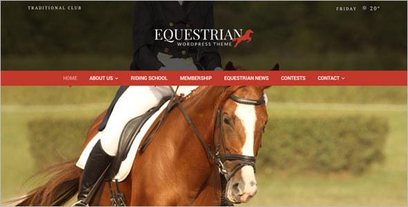 Horse Racing WordPress Theme
