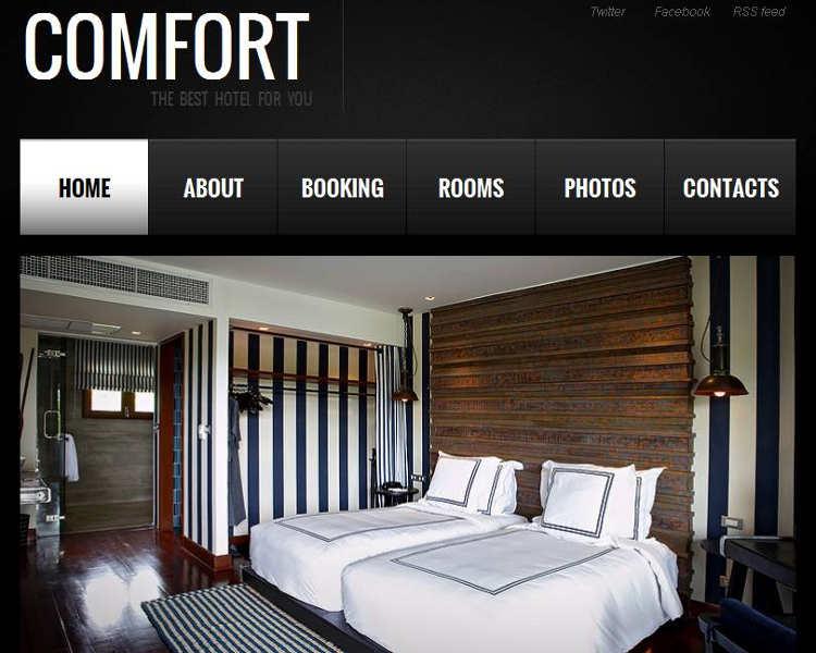 hotel-comfort-html-templates