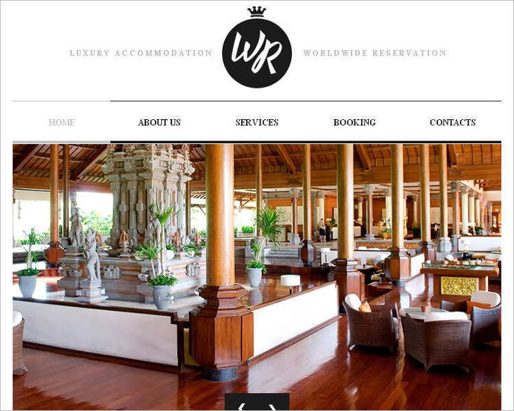 hotels-facebook-html-accommodation-cms-template
