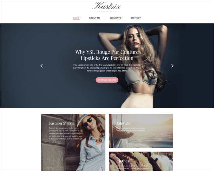 kustrix-fashion-designers-website-templates