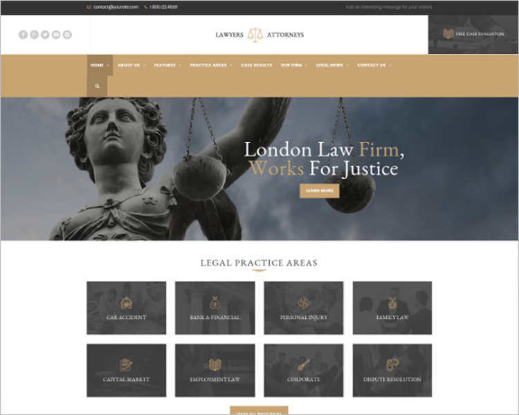 law-legal-office-wordpress-templates