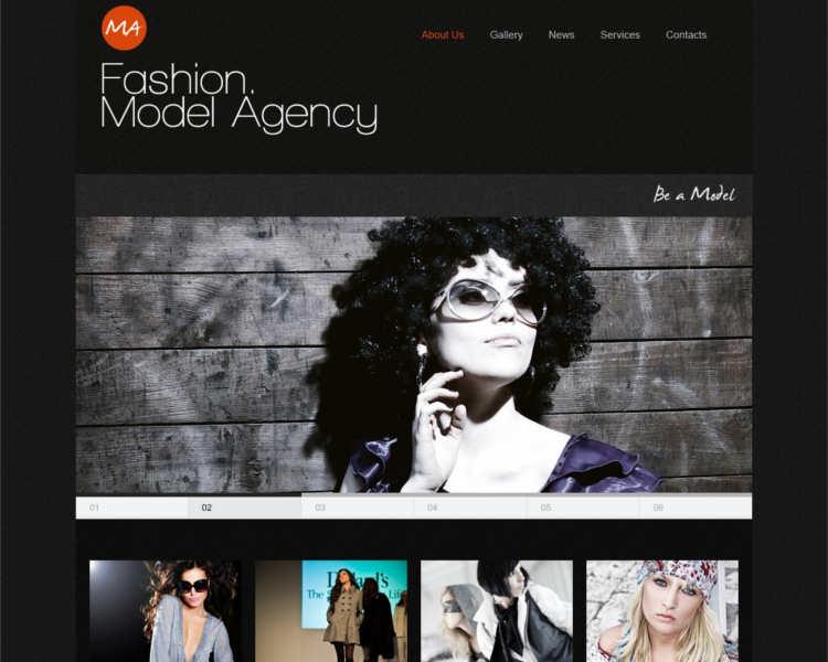 m4-model-agency-website-templates