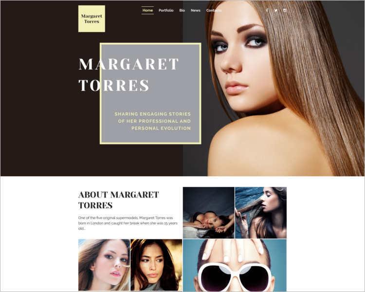 margaret-torres-fashion-design-website-templates