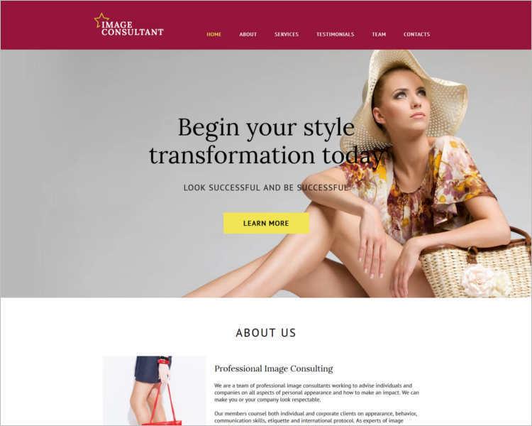 mega-fashion-design-website-templates