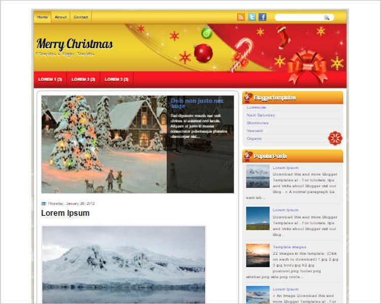 merry-christmas-blogger-theme-templates
