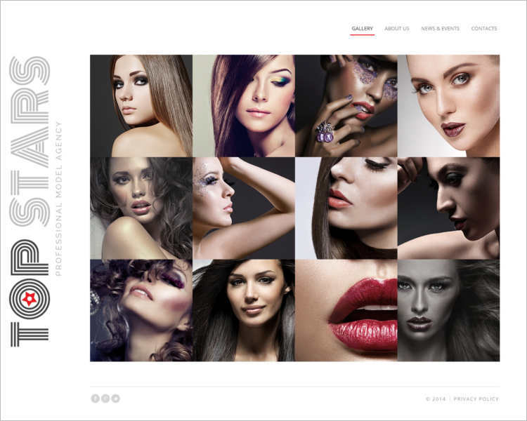 multipul-star-modelas-agency-website-templates
